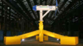 Nova Innovation: The tidal turbine has been installed in the Bluemull Sound.