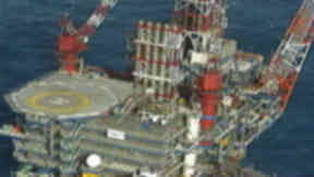 Nelson platform in North Sea operated by Shell