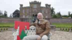 Geoff Ellis, T in the Park Festival Director, at Strathallan Park