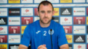 St Johnstone captain Dave Mackay speaks to the media ahead of his side's Europa League second qualifying round tie against Luzern