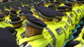 Police in rows good generic for policing justice or football