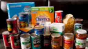Food bank: UK welfare cuts 'forcing families into poverty' (file pic).