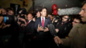 Ed Miliband in Edinburgh