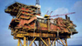 Brent Alpha: Steel support jacket will be removed.