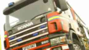Fire service: Crews attended the scene