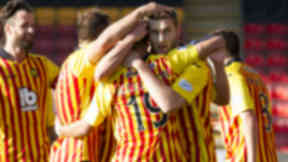 Stephen O'Donnell, Partick Thistle, Motherwell, Scottish Premiership, October 5 2014