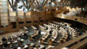 Scottish Parliament Holyrood politics MSPs internal debate debating chamber quality news generic image uploaded October 2014