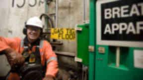 Oil crisis: Redundant North Sea workers retraining (file pic).
