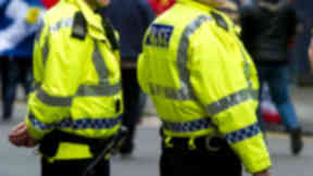 Police officers on scene police scotland quality news image #policegeneric