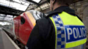 Attack: Woman assaulted on train.