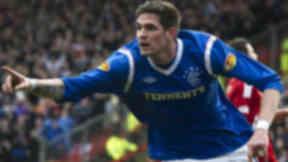 Rangers forward Kyle Lafferty.