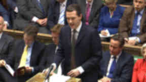 George Osborne chancellor budget 2015 westminster house of commons wide