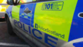 Police Scotland police officer anonymous generic Quality news image #policegeneric uploaded March 18 2015