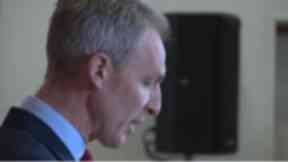 Leftwards lurch: Jim Murphy shifts into Old Labour mode.