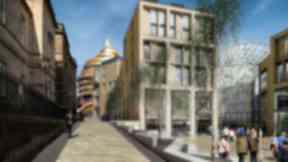 Artist's impression: Work is under way on the ambitious project.