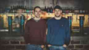 Founders: BrewDog owners Martin Dickie, left, and James Watt.
