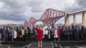 Scotland's vanguard: The 56 SNP MPs have taken Westminster by storm.