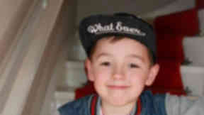 Ciaran Williamson, eight, who died at Craigton Cemetery in Cardonald on Tuesday May 26. Image from police Scotland uploaded Wednesday May 27