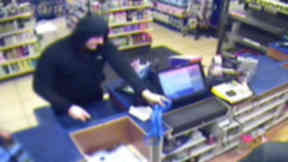 CCTV image of robbery in Kilbarchan renfrewshire on February 28 2015 news image from Police Scotland uploaded June 8 2015