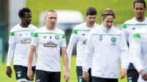 Scott Brown, Celtic training