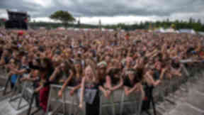 Festival: Drug offences remain the most common crimes committed at T in the Park.