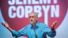 Jeremy Corbyn: Leadership under microscope.