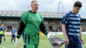 Rab Douglas:  The goalkeeper was targeted at Station Park.