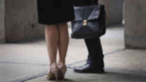 Harassment: A care worker committed misconduct by touching his female colleagues for two years. (file pic)