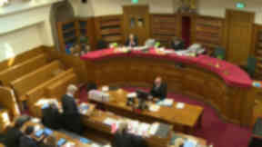 Court hearing: The Alistair Carmichael election court