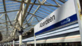 Aberdeen train station rail station scotrail Quality news image from Flickr Creative Commons on October 13 2015.