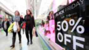 Black Friday: Edinburgh least excited about sales (file pic).