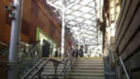 Waverley Station: Woman injured in fall.