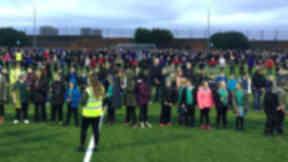 Northfield Academy: World record cracker attempt.