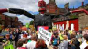 Campaigners have concerns over fracking.