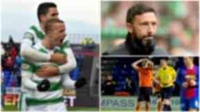 Leigh Griffiths, Derek McInnes, Dundee United
