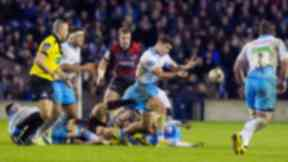 Deficit: Glasgow Warriors are at a 23-11 disadvantage.