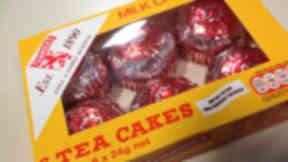 Tunnock's tea cakes.