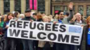 Refugees: About 1000 have resettled in Scotland (file pic).