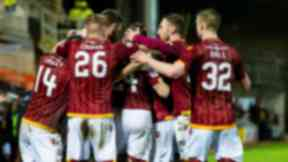 Motherwell jumped up to eighth in the table after their victory at Tannadice.