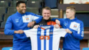 I'm taking risk on Kilmarnock's late double signings says Lee Clark
