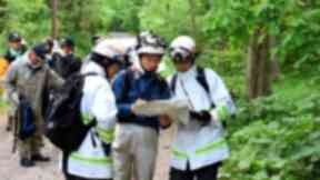 Hundreds of emergency workers and military personnel searched for the boy.