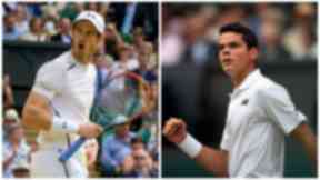 Andy Murray, Milos Raonic