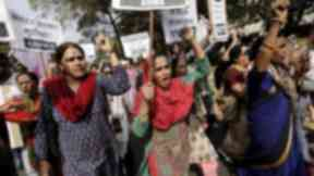 India has seen a number of protests against sexual violence