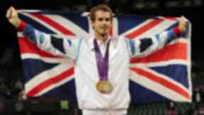Medals: Murray won gold and silver at London 2012.