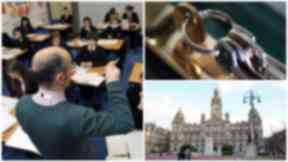 Security: Auditors visited 11 schools and learning centres across Glasgow.
