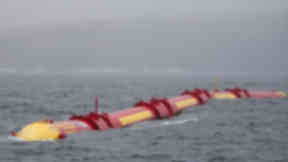 Wave Power: Development could power 7000 homes.