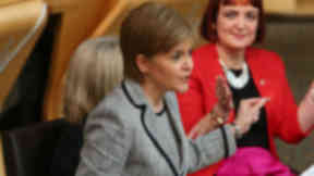 Nicola Sturgeon on the programme for government