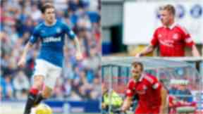 Clockwise: Josh Windass, Jonny Hayes and Niall McGinn could face each other on Sunday.