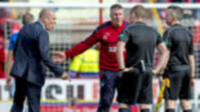 Warburton: Fourth official said freekick shouldn't have been given