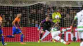 Double: Moussa Dembele scored twice for Celtic